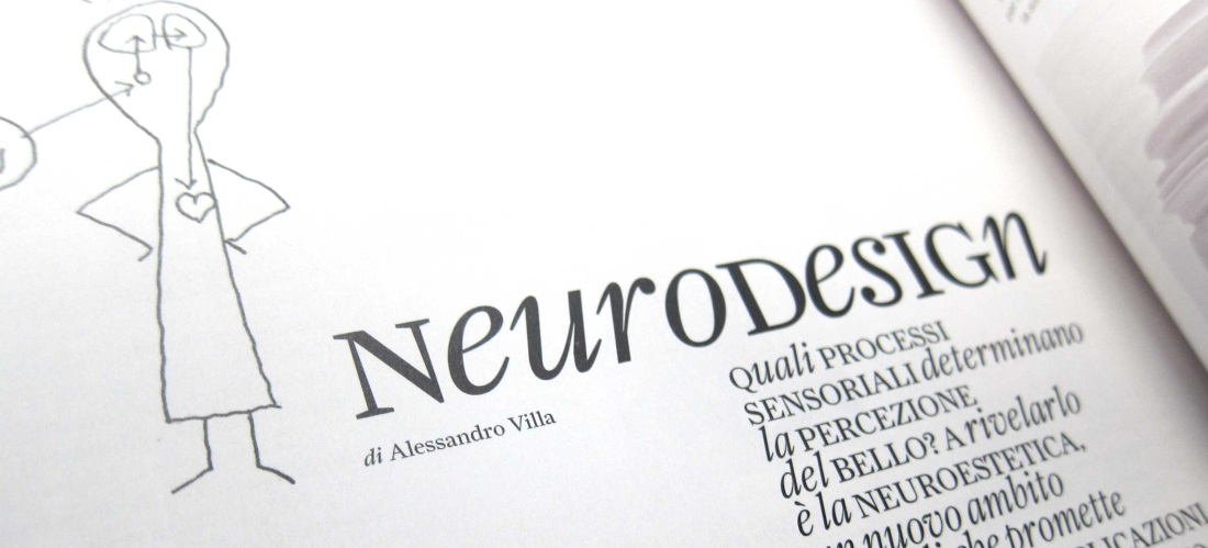 Interni 646, November 2014. Article on Neuroesthetics