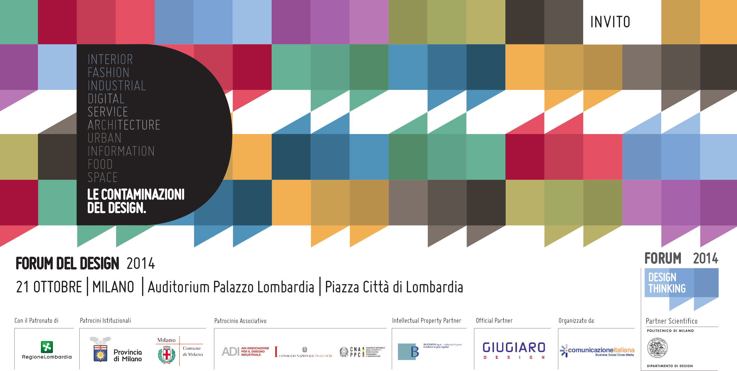21.10.2014 Speaker at Forum del Design, Palazzo Lombardia, Milano