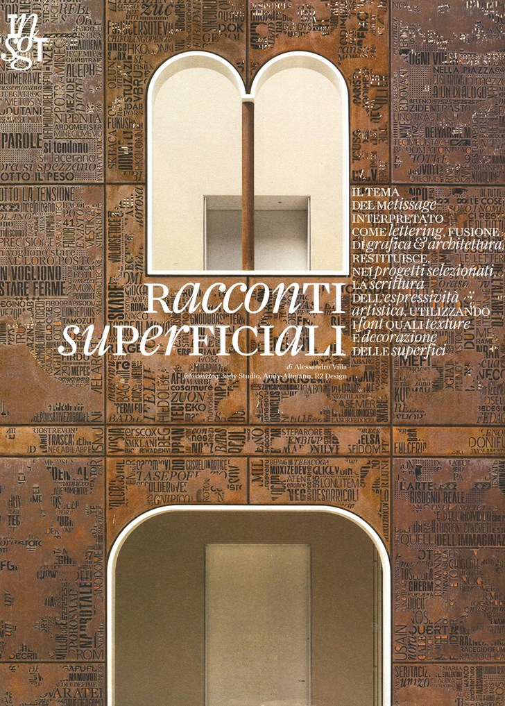 Superficial stories - Alessandro Villa architect