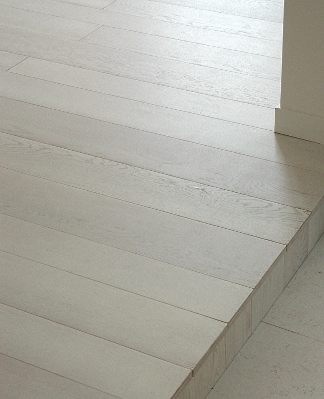 White oak flooring - Alessandro Villa architect